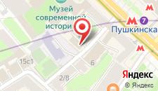 Гостиница V Тверская на карте
