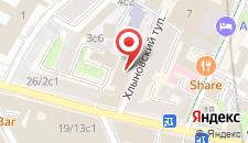 Отель Элемент на карте