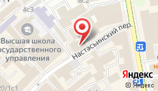 Отель Пушкин на карте