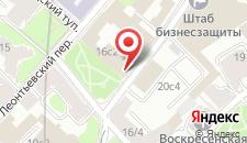Отель Вознесенский на карте