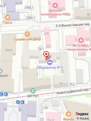 Сущевский Двор на карте