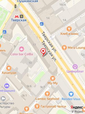 Ресторан Армения на карте