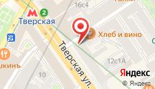 Гостиница Издатель Отель Тверская на карте