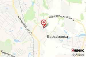 Адрес Электрическая подстанция Тула на карте