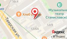 Отель Тверская loft на карте