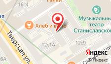 Хостел Tverskaya street на карте
