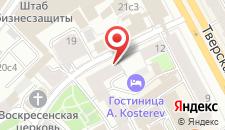 Хостел Брюсофф на карте