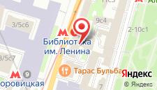 Отель ВЕЛИЙ Отель Моховая Москва на карте