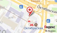 Гостиница Варшава на карте