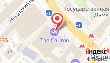 Отель Ритц Карлтон на карте