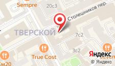 Дизайн-Отель Akvarel Stoleshnikov на карте