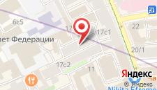 Отель На Петровке на карте