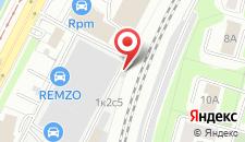 Хостел Пролетарий на Загородном на карте