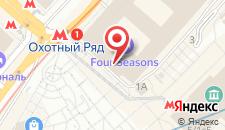 Отель Four Seasons Hotel Moscow на карте