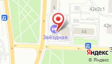 Гостиница Звездная на карте