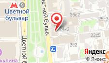 Отель Циркус на карте