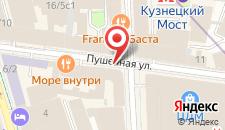 Отель Савой на карте