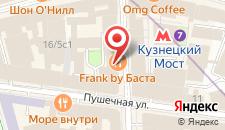 Отель Лубянка Румс на карте
