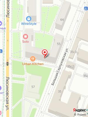 Urban Kitchen на карте