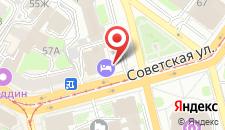 Отель Профит на карте