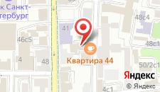 Гостиница Винтерфелл на Третьяковской на карте
