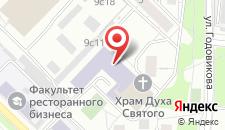 Хостел Москва.ru на карте