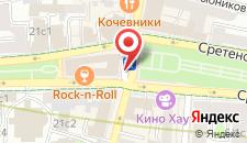 Апарт-отель Наумов на Сретенке, 1 на карте