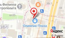 Хостел Privet Moscu на карте