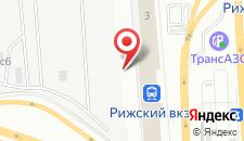 Отель На Рижском на карте