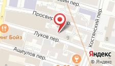 Мини-отель City Life Hotel на карте