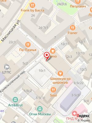 Одесса-Мама на карте