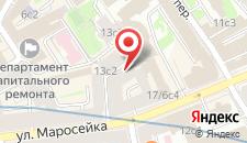 Гостиница Старая Москва на карте