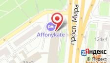 Отель Венера на карте