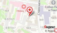 Отель Старосадский на карте