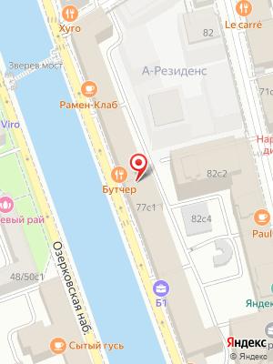 Рамен-Клаб на карте