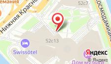 Отель SWISSOTEL Красные Холмы на карте