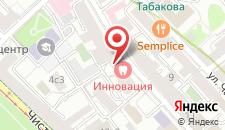 Гостиница Народная на карте