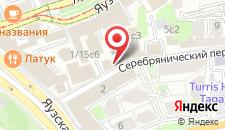 Гостиница Базилика на карте