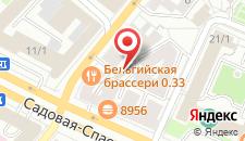 Гостиница Красные Ворота на карте