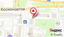 Гостиница Золотой колос на карте