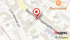 Бутик-Отель Усадьба Хлебникова на карте