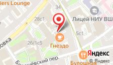 Хостел Уют на Курской на карте