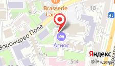 Отель Агиос на Курской на карте