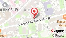 Гостевой дом Прованс на Курской на карте