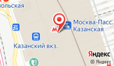 Гостиница ГородОтель на Казанском на карте