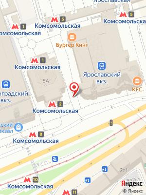 Бургер Кинг на карте