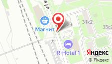 Гостиница Деко на карте
