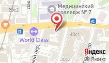 Отель Голден Румс на карте