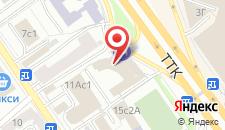 Отель Hilton Garden Inn Moscow Krasnoselskaya на карте