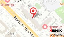 Отель Мини-отель КБ на Таганке - Марксистская на карте